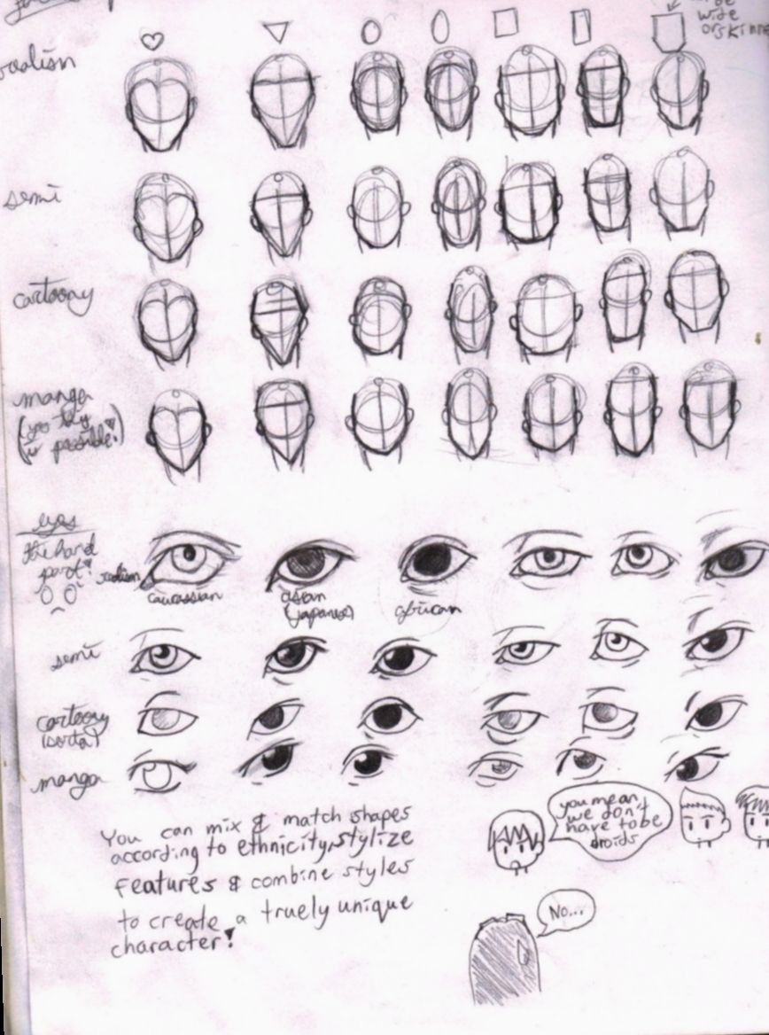 Anime Face Shapes Tutorial Bnha Bokunoheroacademia Katsuki Drawing Face Shapes Anime Face Shapes Face Sketch