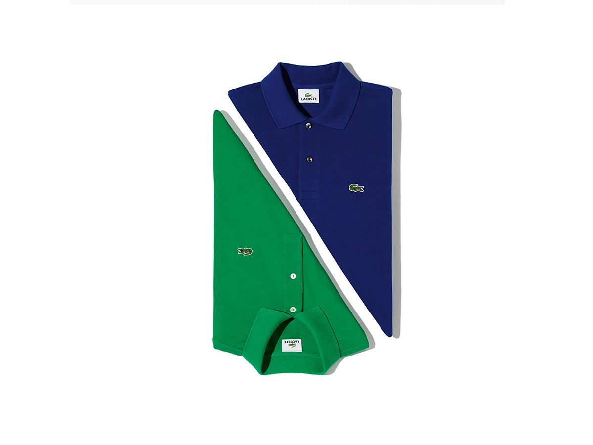 Wear your beautiful blue and green Lacoste polos this weekend.