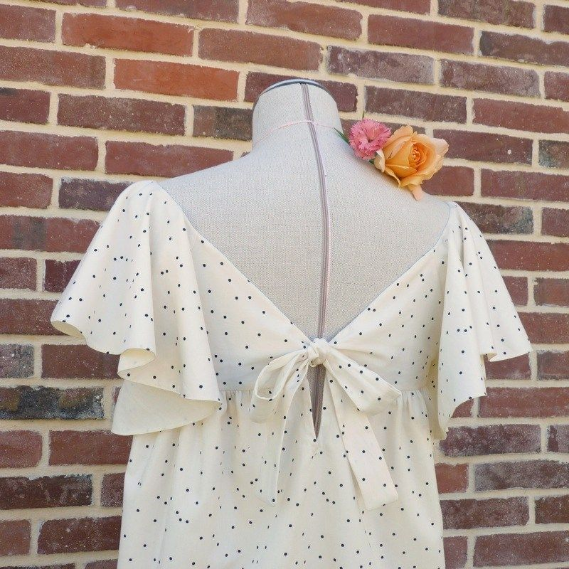 ATLANTA is a charming pattern, with ruffled sleeves. You can sew the ...