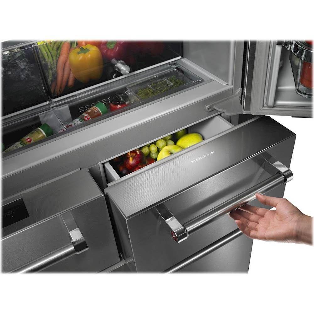 Kitchenaid 258 cu ft 5door french door refrigerator