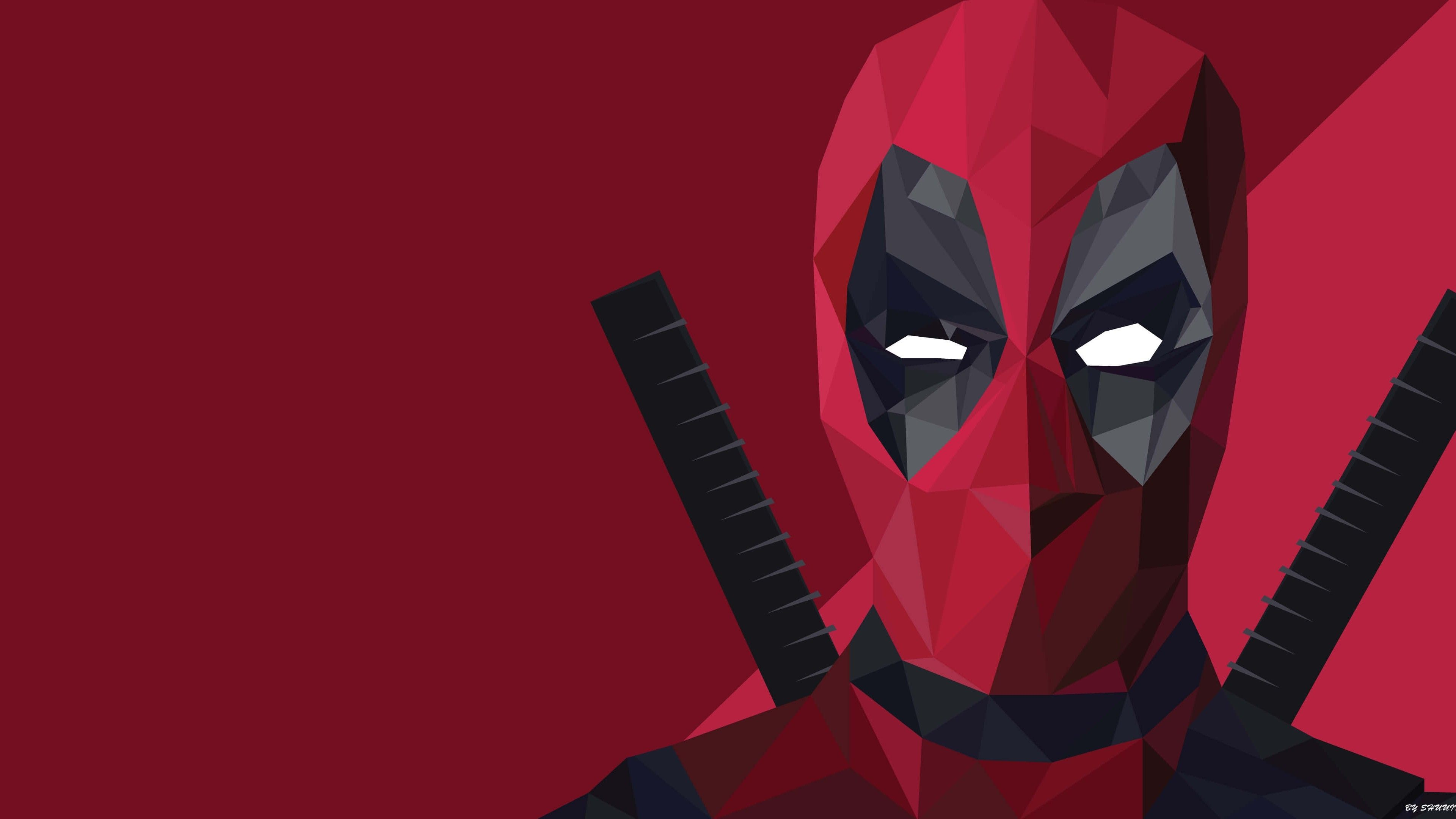 3840x2160 lowpolydeadpoolwallpaperbychuitochromecast