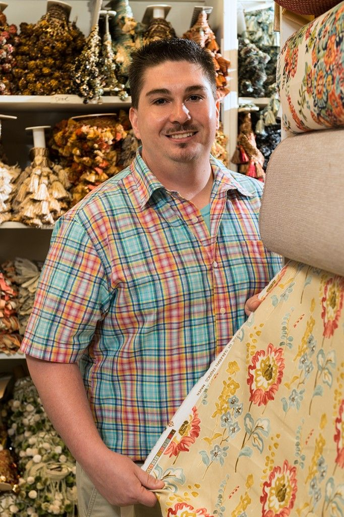 "Introducing the Master of Fabrics... Mark! ""I think that is what makes southern design so special. It is about creating a feeling of connection to your grandmothers front porch. It is about tassels and wing chairs and blue and white china handed down from generation to generation."" Read more.. http://www.knottinghillinteriors.com/blog/2013/04/introducing-the-master-of-fabrics-mark/"