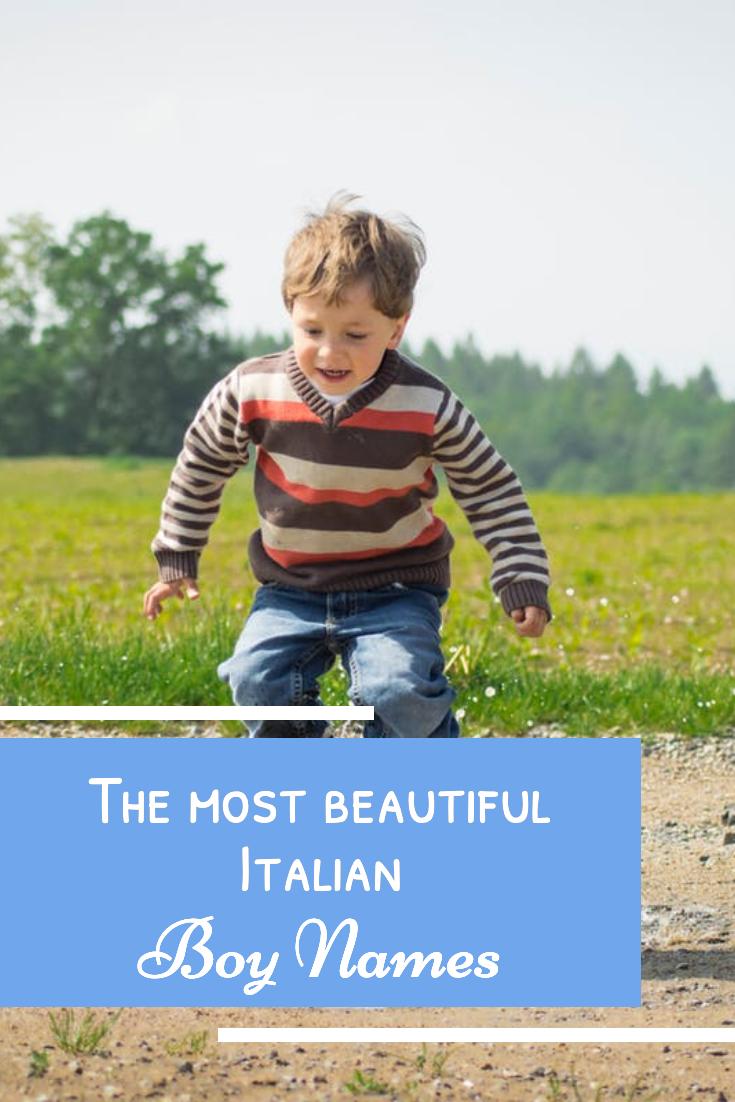 Italienische Jungsnamen