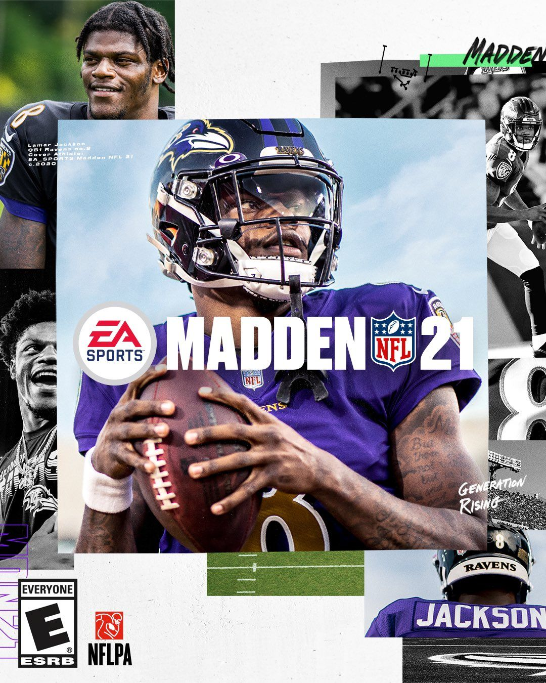 Lamar Jackson for Madden 21