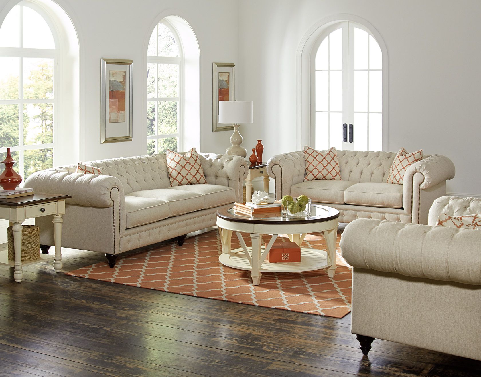 England Furniture 2r00 With Grande Linen And Enhance Mango Fabrics