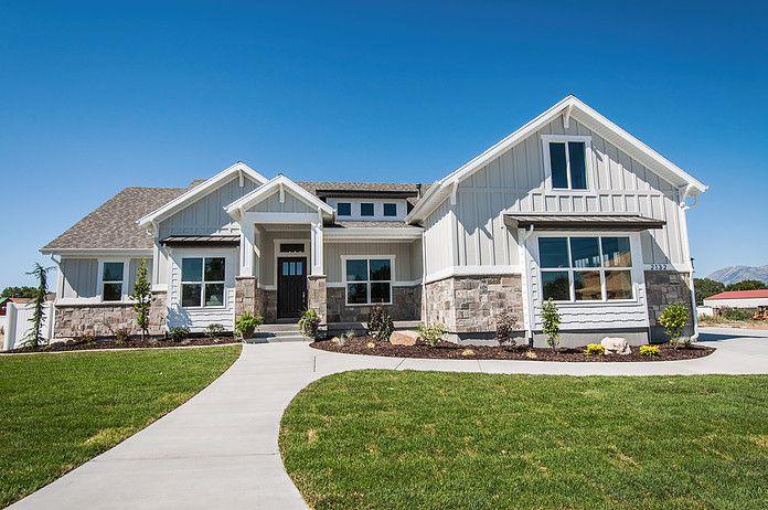 Jcraft Homes Utah Homebuilder Craftsman House Plans Dream House Exterior Lake Houses Exterior