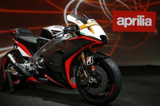 Aprilia reveals MotoGP colours