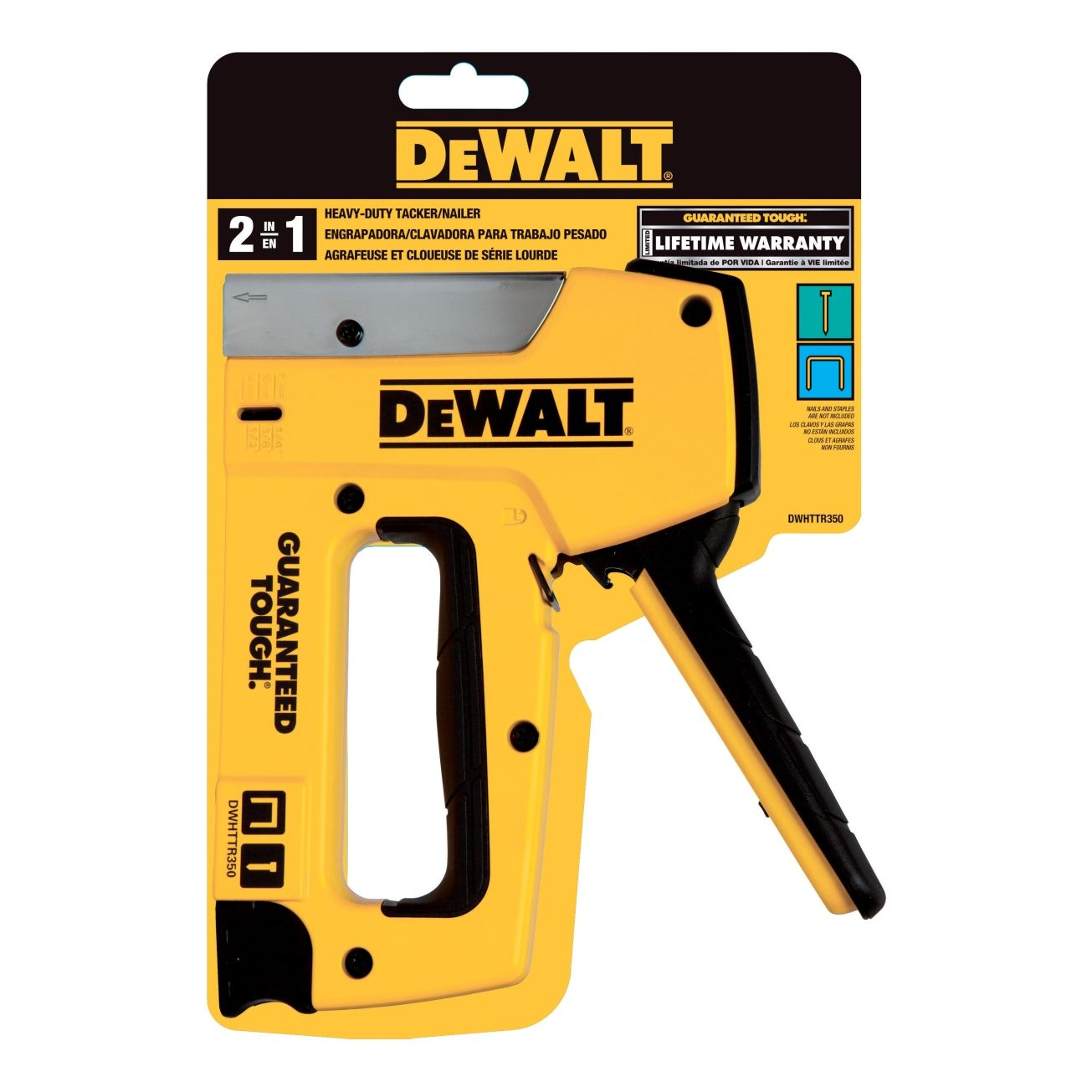 Dewalt 700 Series Aluminum Heavy Duty Staple Gun Heavy Duty ...