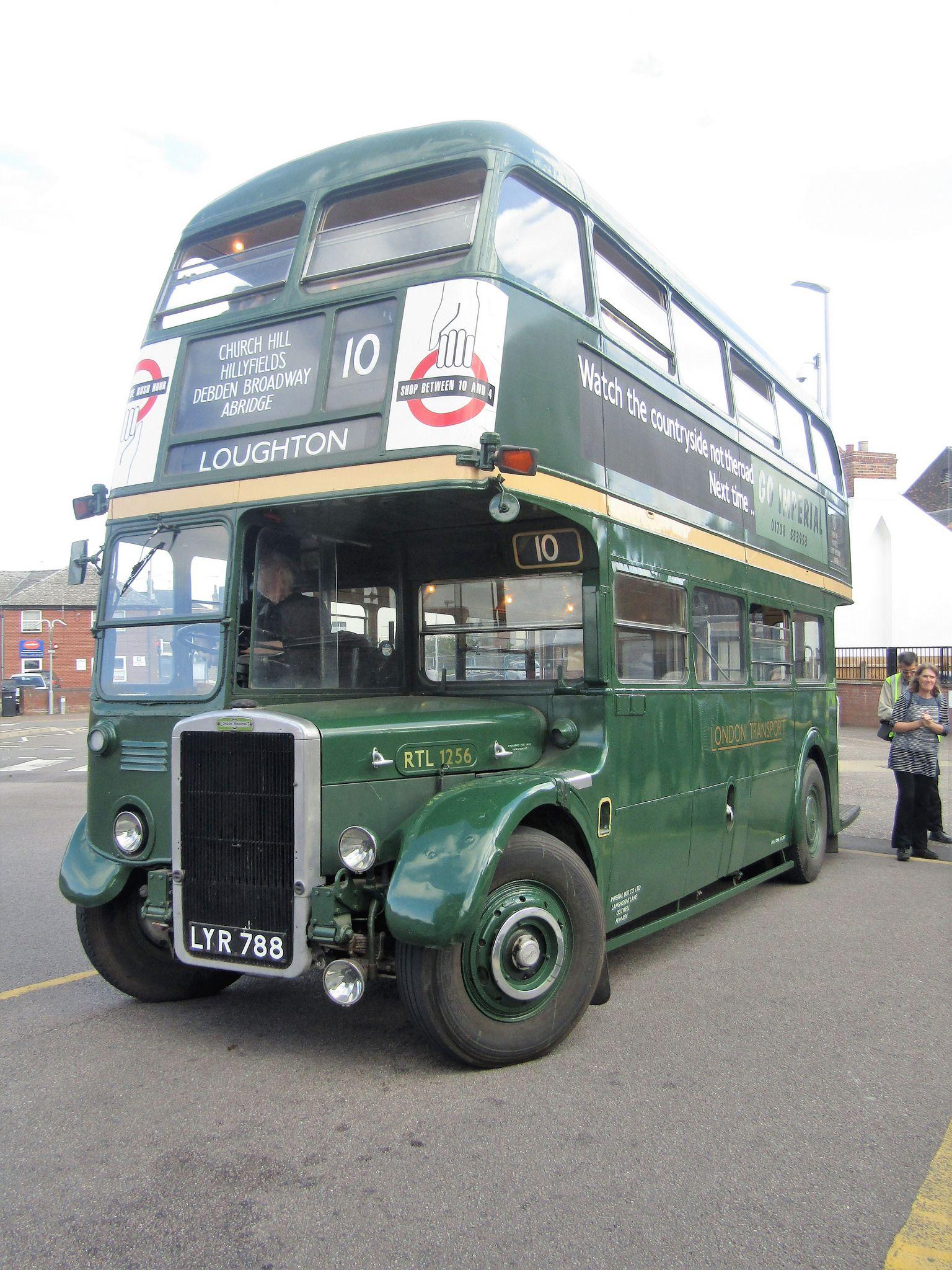 Leyland 7rt Park Royal Lyr 788 Double Deck Bus Rt Bus Bus