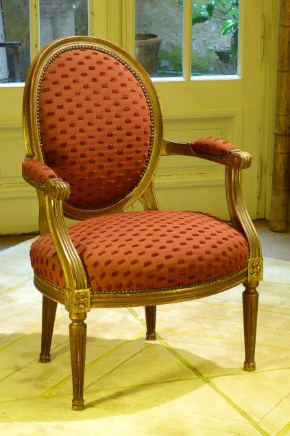 Sillon luis xv decoraci n pinterest - Sillas luis xvi ...