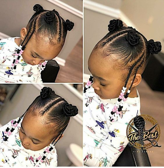 cute and easy natural hairstyle