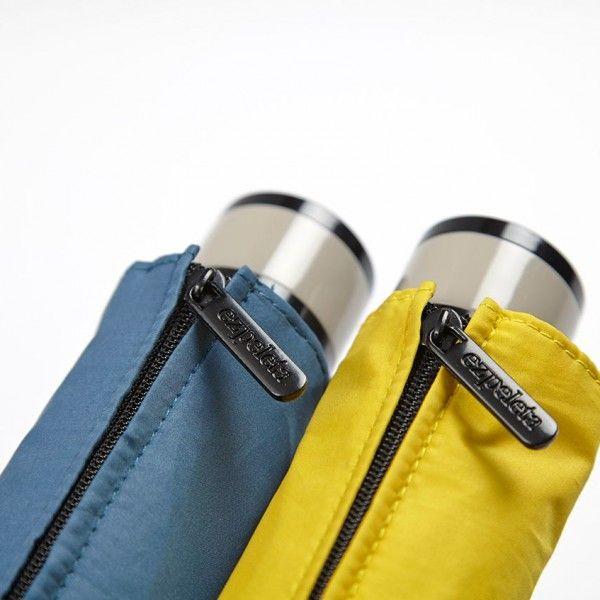 Paraguas Ezpeleta —#10418 Paraguas plegable de mujer. 51/7 Acero manual, 4 secciones. Liso con brillo. Tejido poliéster. Surtido de 4 colores. Colección 2016. #umbrella #fashion #trend