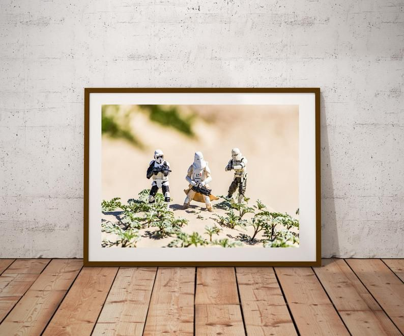 Downloadable Photograph Toy Photography Black Series Scout Etsy Large Wall Art Affordable Wall Art Toys Photography