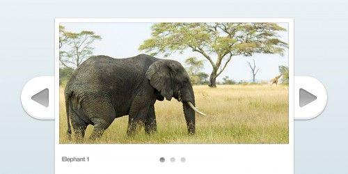18 Beautiful and Free Image Slider PSD Design