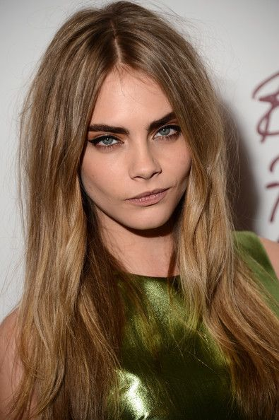 Cara Delevingne And Dark Blonde Hair Photograph Blondes Can Be Mysterious Too