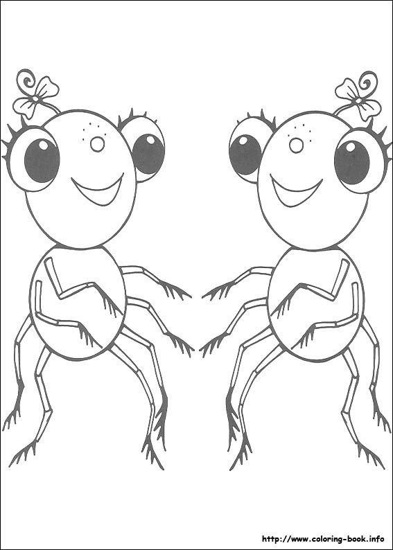 Miss Spider coloring picture | Coloring and Activities | Pinterest ...