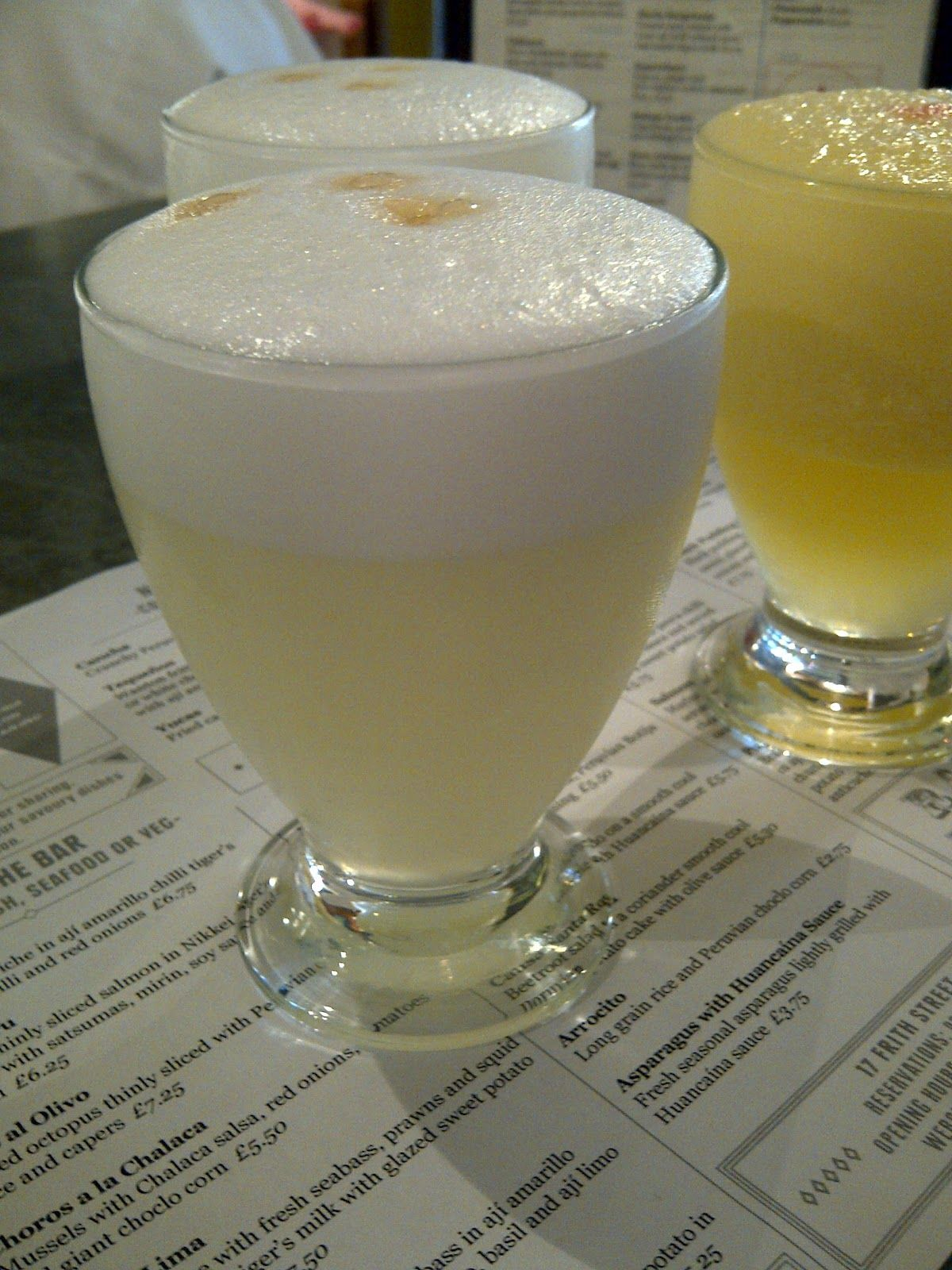 Pisco Sours in Soho