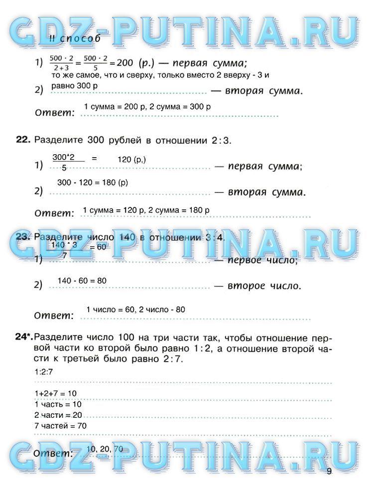 Скачать бесплатно без регистрации ответы на рабочую тетрадь 6 класс ерина т.м