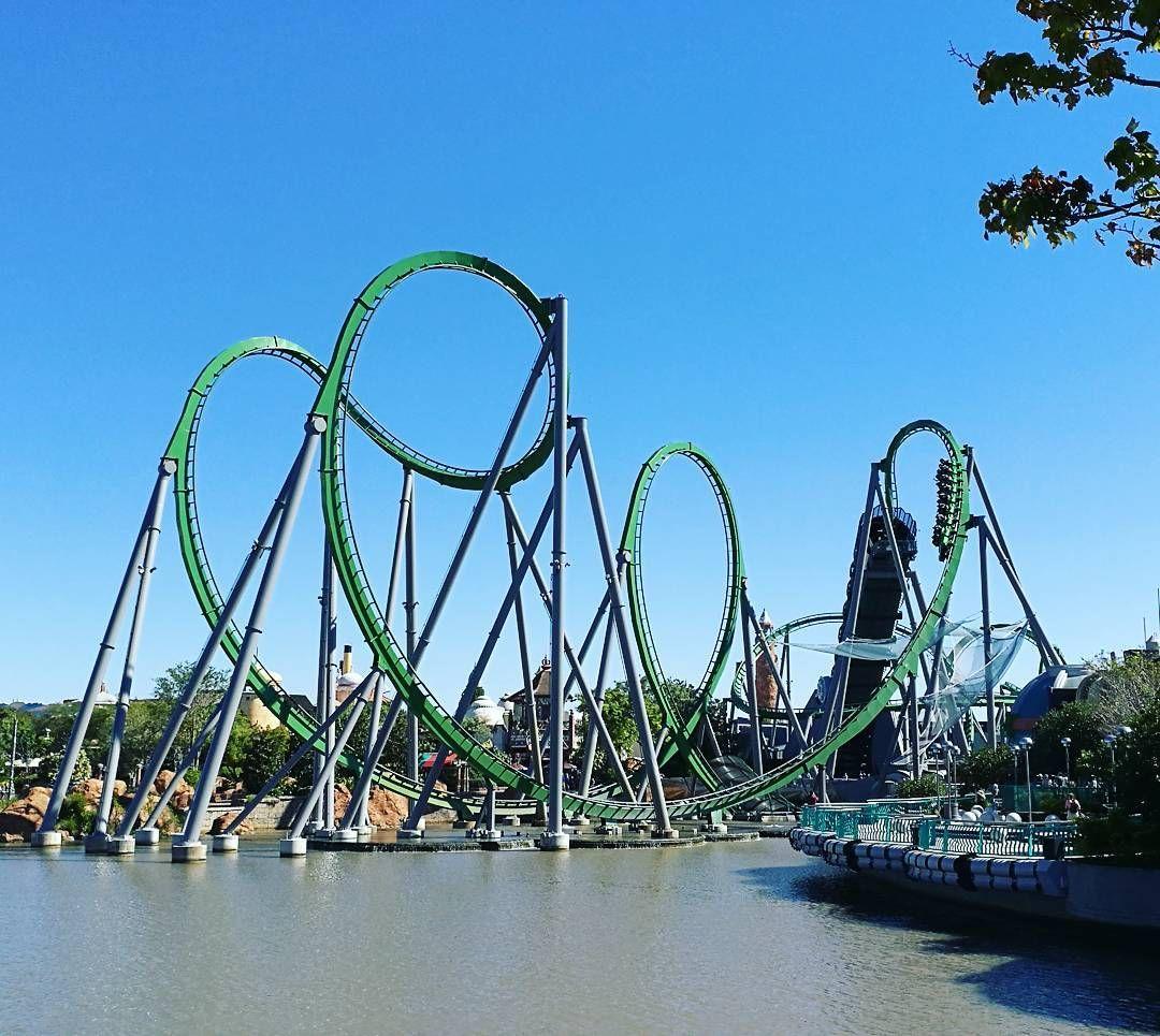 The Hulk Rollercoaster Universal Resort Orlando Universal Studios