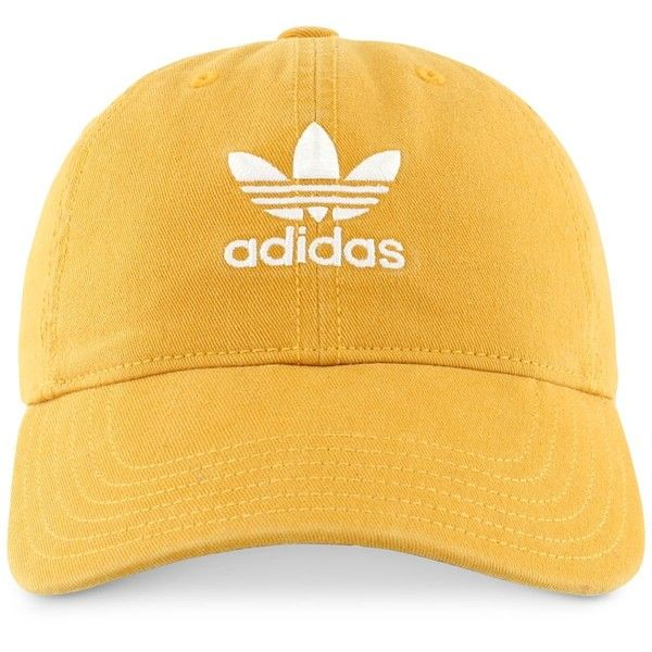 adidas Originals Cotton Relaxed Cap found on Polyvore featuring accessories 9a2df5f5527f