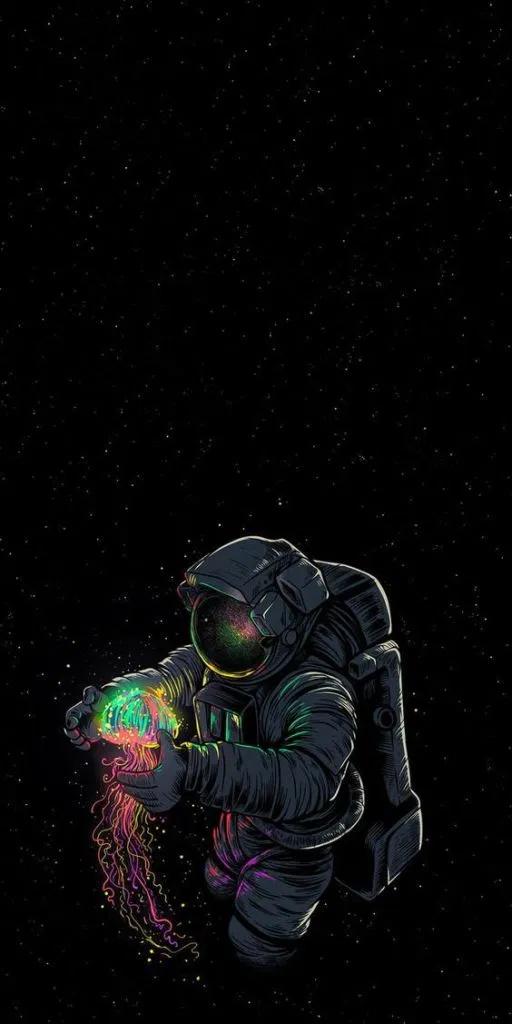 Fondos De Pantalla Astronauta Chidas En Hd Para Celular Fondos De Pantalla De Iphone Mejores Fondos De Pantalla Para Iphone Empapelado De Galaxias