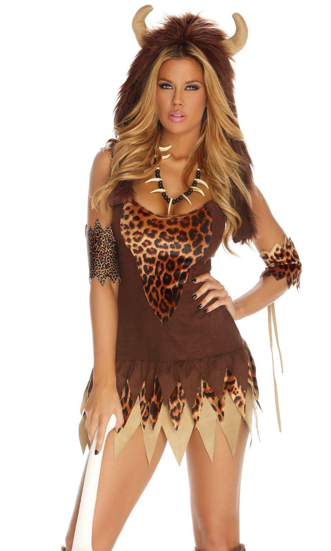 Sexy goin clubbin cave woman costume