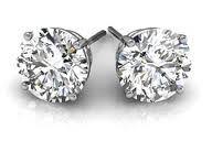 diamond stud earrings - Google Search