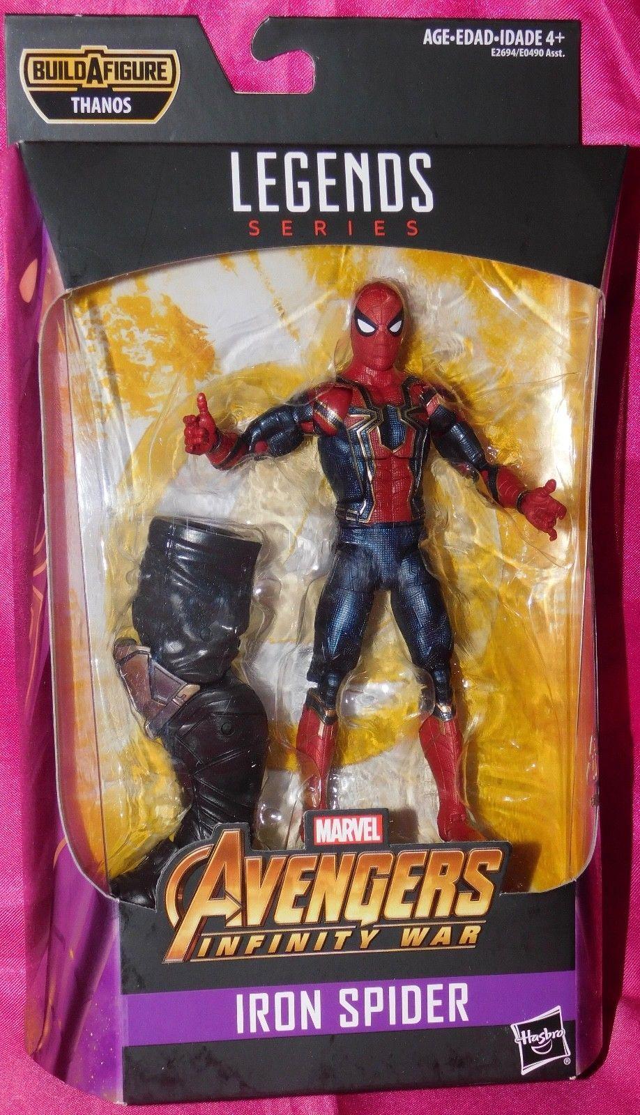 MARVEL LEGENDS INFINITY WAR IRON SPIDER SPIDER-MAN from THANOS SERIES
