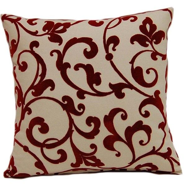 Jared Scarlet 17-inch Throw Pillows (Set of 2) - Overstock™ Shopping - Great Deals on Throw Pillows