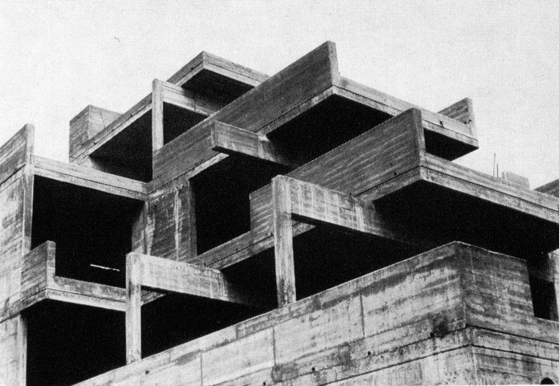 Architektur der 50er 60er 70er