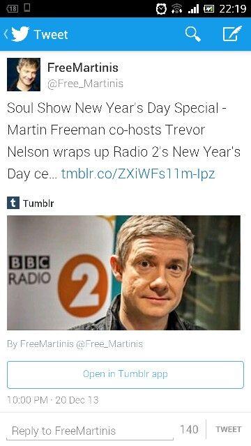 Martin on BBC Radio 2