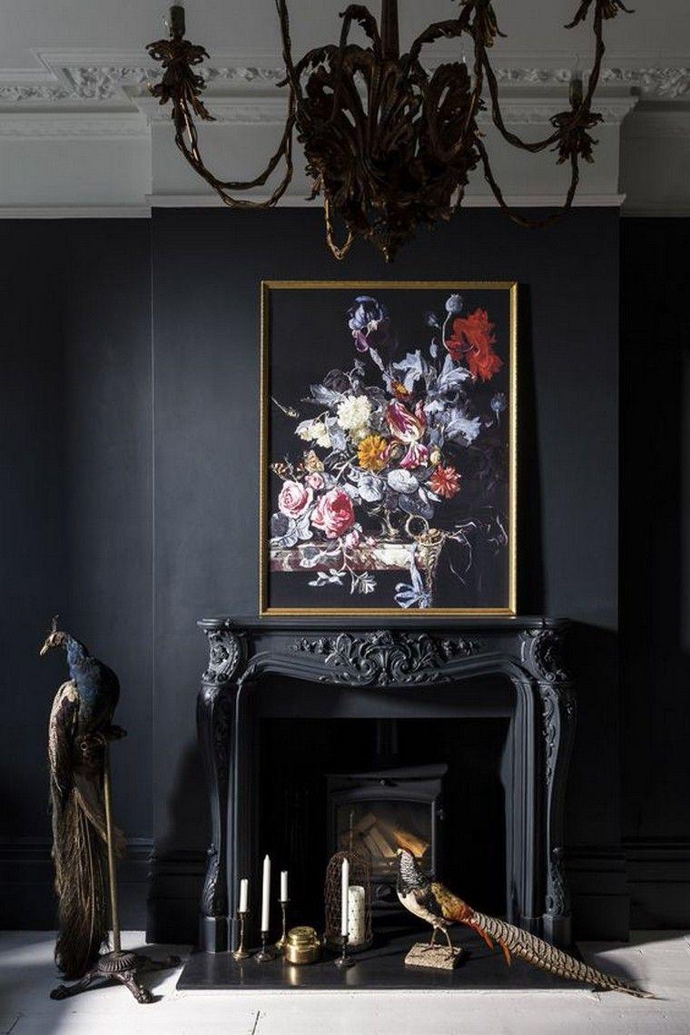 comment accrocher un tableau au mur les r gles d 39 or conna tre manteau chemin e chemin es. Black Bedroom Furniture Sets. Home Design Ideas
