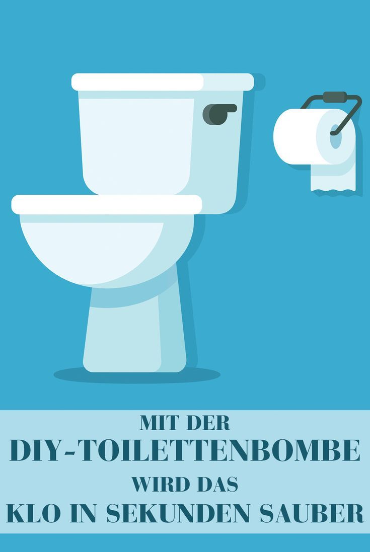 Mit Dieser Diy Toilettenbombe Wird Das Klo In Sekunden Sauber
