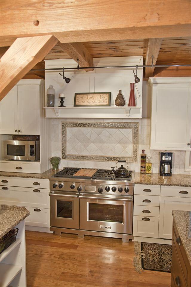 Charming Kitchen - Custom Tile Backsplash > Kitchen Design ...