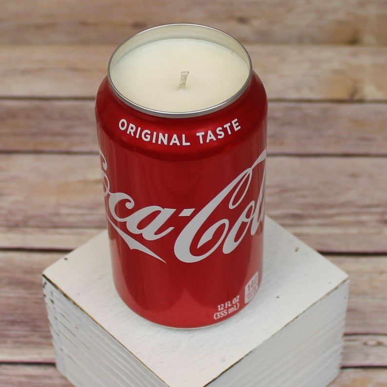 Gift for Retro Lover Vintage Candle Soda Scented Candle Soda Pop Candle Gift Retro Decor Retro Design Candle Drink Candle Gift