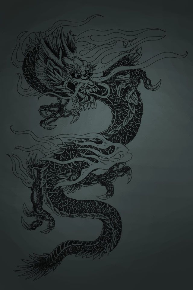27543 Dragon Wallpapers For Iphone Dragon Tattoo Chinese Dragon Tattoos Inspirational Tattoos