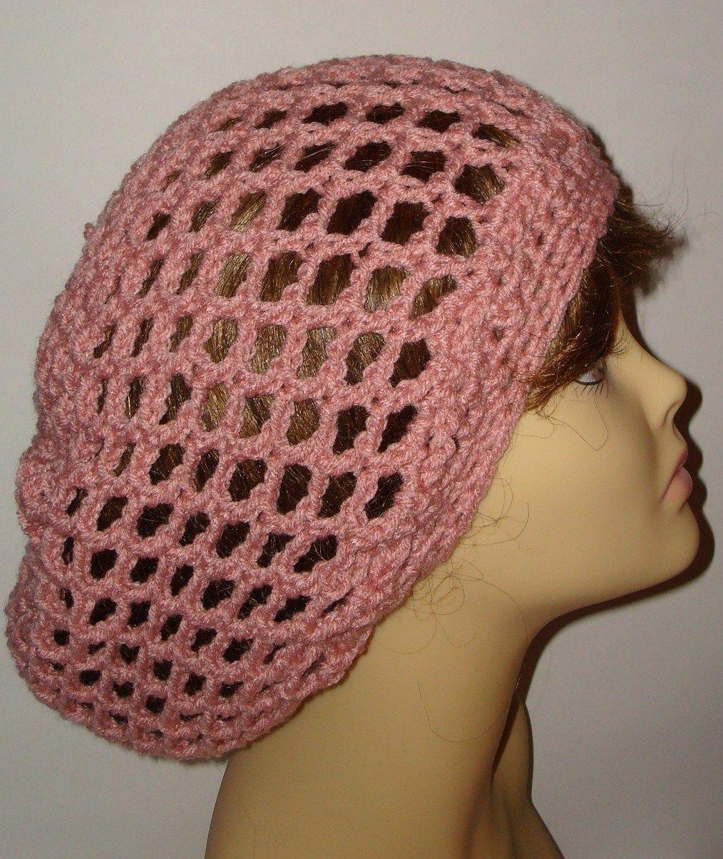 crochet tam hat patterns free | Crochet Slouchy Open Weave Rasta Tam ...