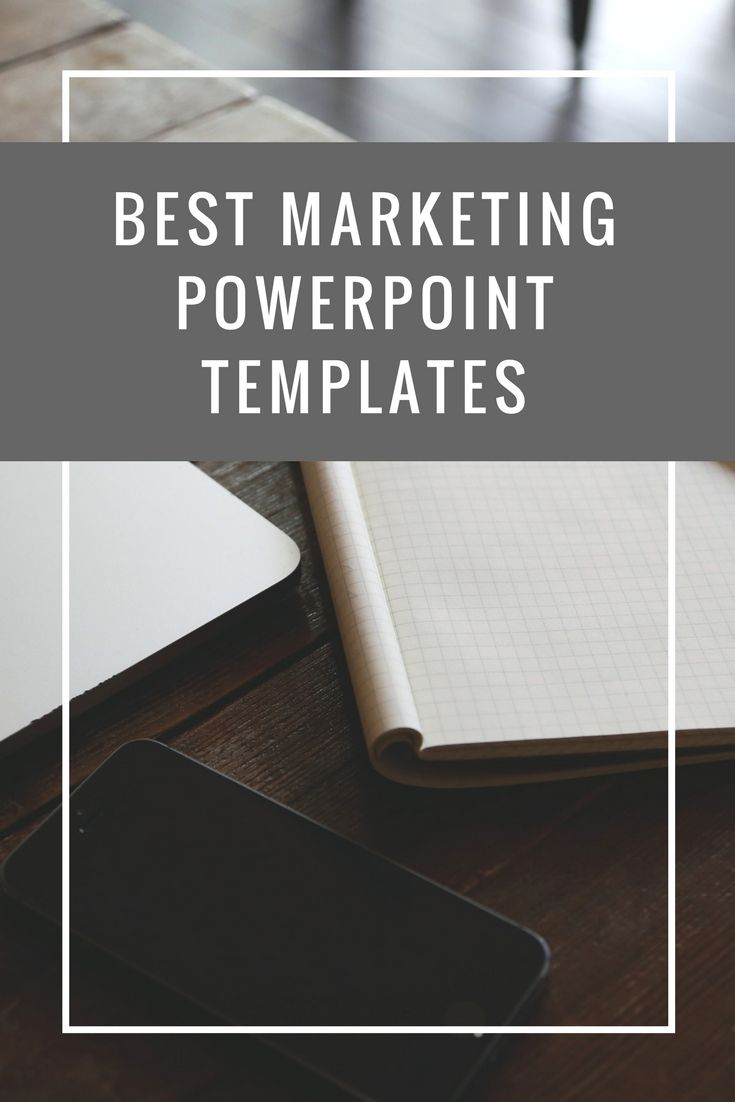 Marketing PowerPoint templates have plenty of design elements such ...