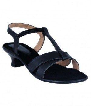 06fceba8369 Heels - Legsway black kitten heels online shopping India