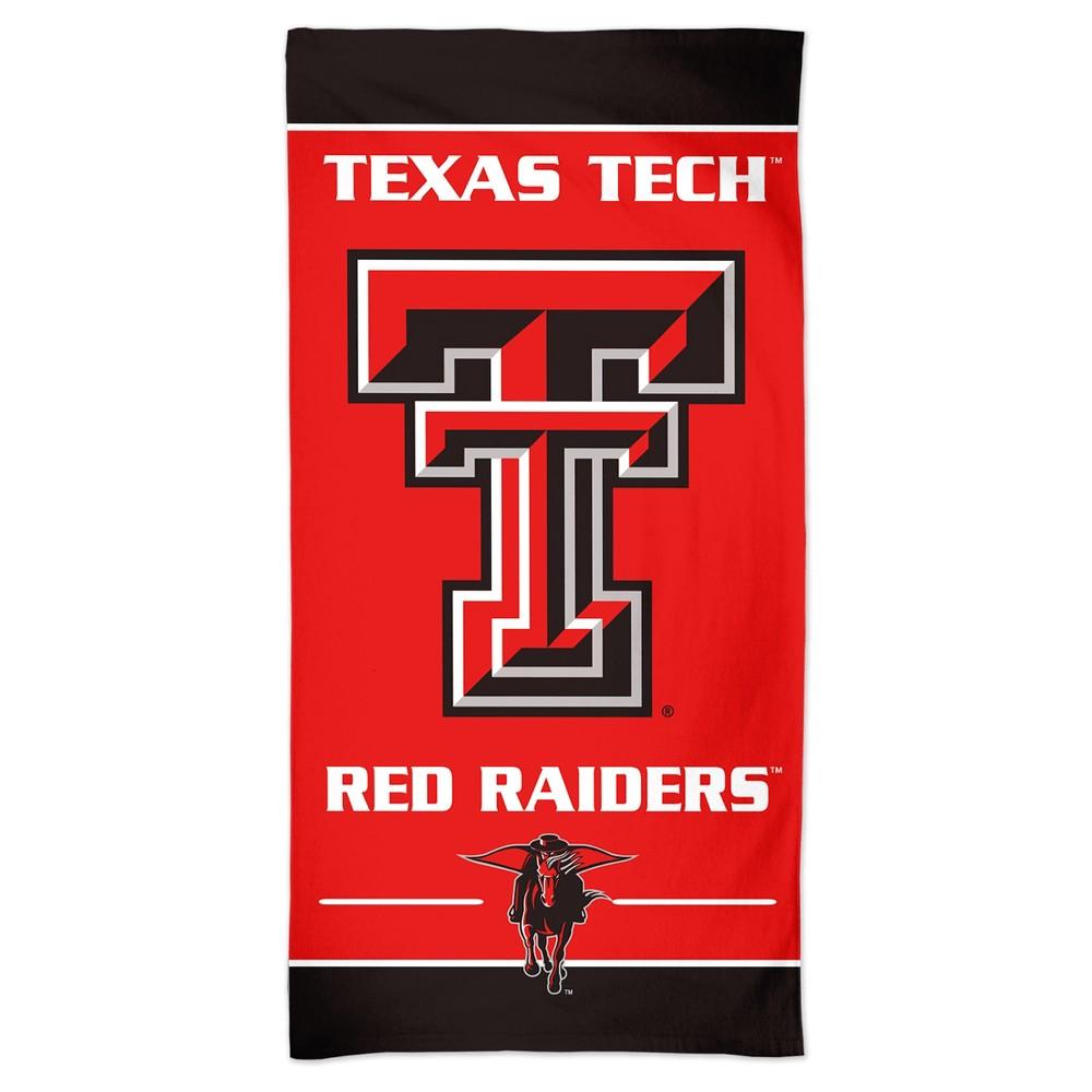 Officially Licensed NCAA Texas Tech Red Raiders Emblem Beach Towel