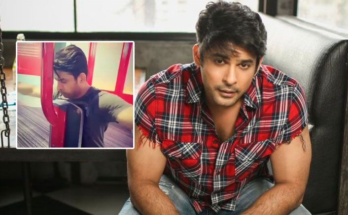 Bigg Boss 13 Sidharth Shukla Hits The Gym For An Intense Workout Session Video Goes Viral