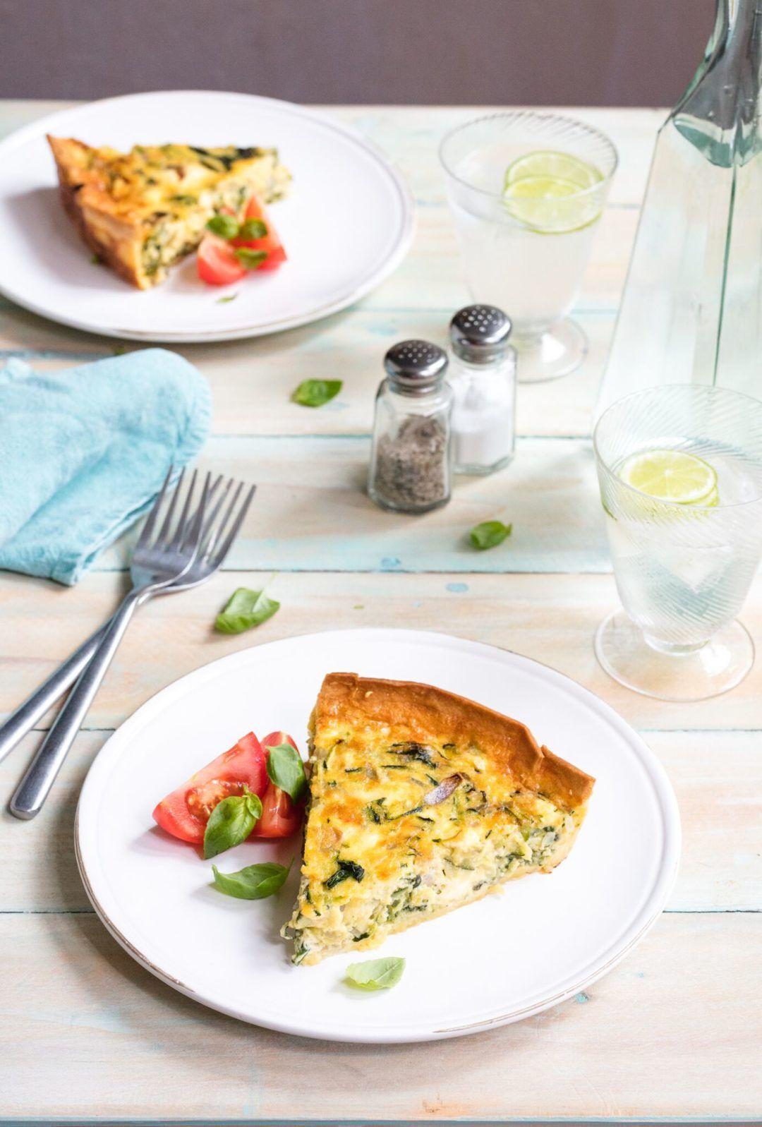 Food Super Summer Quiche QuicheVegetarian RecipesProjectsEggsSummerFood Ideas