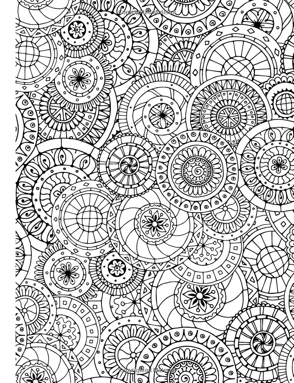 The Really Relaxing Colouring Book For Adults Elizabeth ...