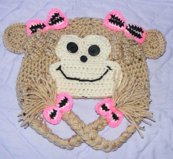 Girlie Monkey by CorinnaCasillas on Etsy, $20.00