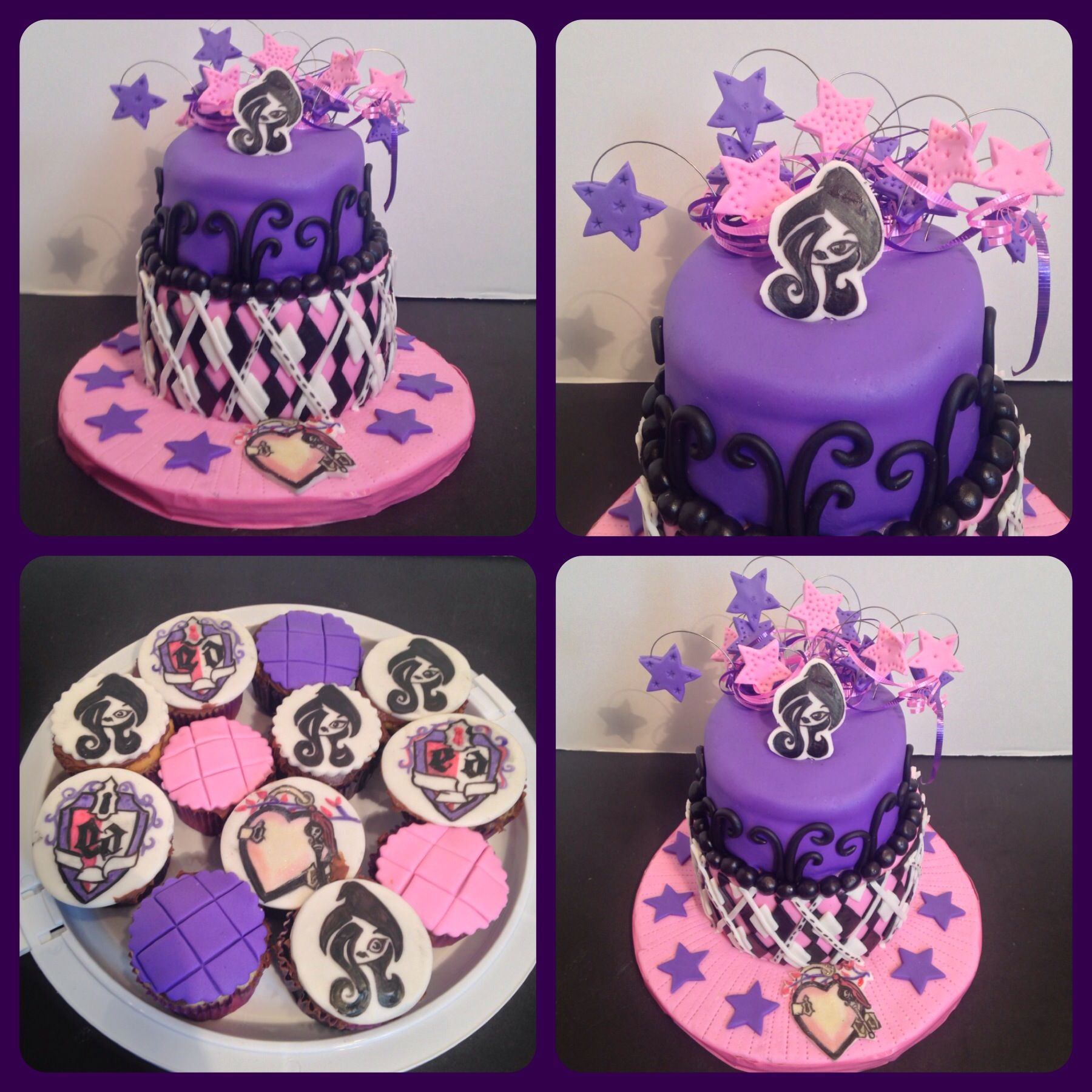 Ever After High Cake Google Search