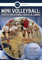 Junior Volleyball Association Presents Mini Volleyball Youth Volleyball Skills Games With Kathy Litzau Hea Volleyball Skills Youth Volleyball Skill Games