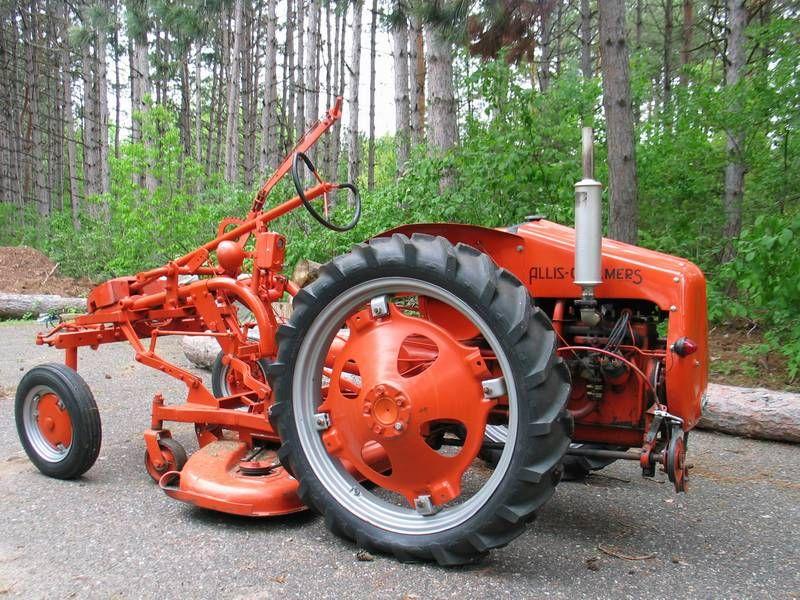 Allis Chalmers G Tractor : Allis chalmers g video info