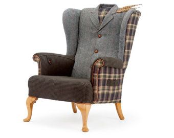 delightful late 19th century oak framed and armchair with a difference restored with exposed