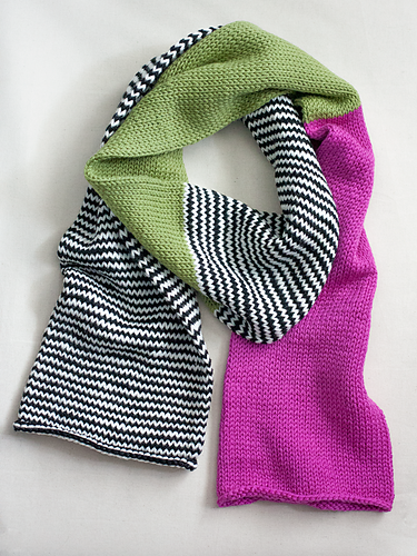 dc2da1ad1690d Ravelry: Color Block Scarf pattern by Heather Walpole | projects ...