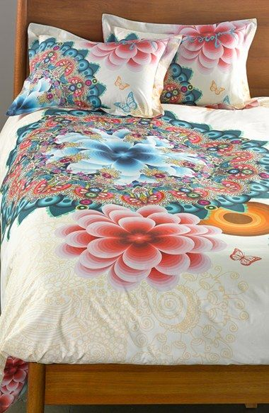 Desigual Mandala Reversible Duvet Cover Available At Nordstrom